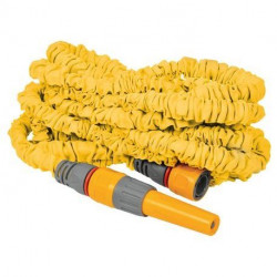 Tuyau extensible Superhoze 30 m + 2 raccords Aquastop + 1 lance d'arrosage