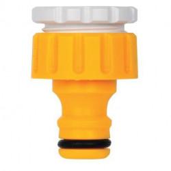 Raccord pour robinets filetés extérieurs Ø 20/27 mm et 15/21 mm