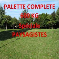 Gazon Professionnel Terra Parc Florivert - Palette de 600kg