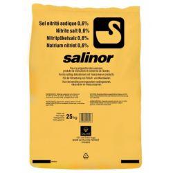 Sel raffiné fin séché nitrité 0,6% Salinor