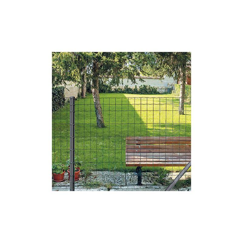 Grillage Soudé Gris Anthracite 7016 Qualité Classic maille 100x50mm ...