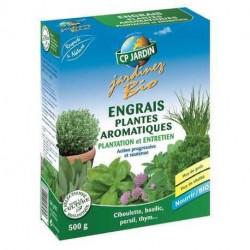Engrais plantes aromatiques CP Jardin, boite 500 g