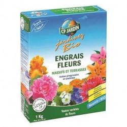 Engrais fleurs CP Jardin, boite 1 kg