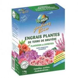 Engrais plantes terre de Bruyère CP Jardin, boite 1 kg