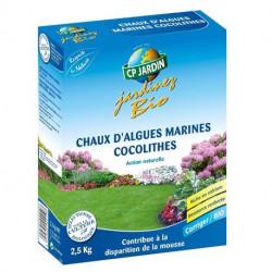 Engrais chaux marine algues coccolithes CP Jardin, boite 2,5 kg