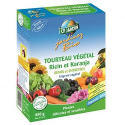 Engrais tourteau végétal Karanja et Ricin CP Jardin, boite 800 g