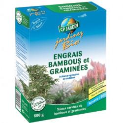 Engrais bambous et graminés CP Jardin, boite 800 g
