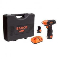 Kit clé à choc 12V - 1/4'' Bahco BCL31IW1K1