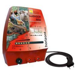 Electrificateur secteur 230v, HotShock N50 horizont