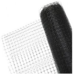 Filet anti oiseaux Economique noir en polyéthylène maille:10x10mm