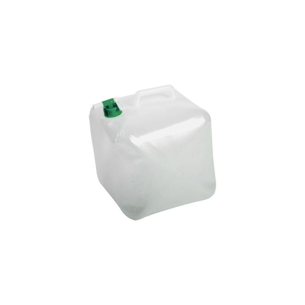 Jerrican alimentaire pliable 15 litres avec robinet EDA Plastiques