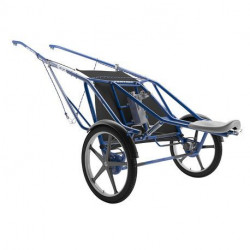 Sulky T7 Resistance cart FinnTack, avec roues