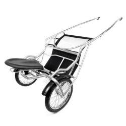 Sulky Air Ride Sport Pennsbury avec roues polies, garde boue et bâche de protection