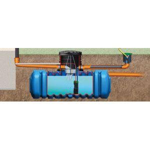 Récupérateurs eau pluie