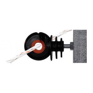 Isolateurs piquets acier, fibre, plastique